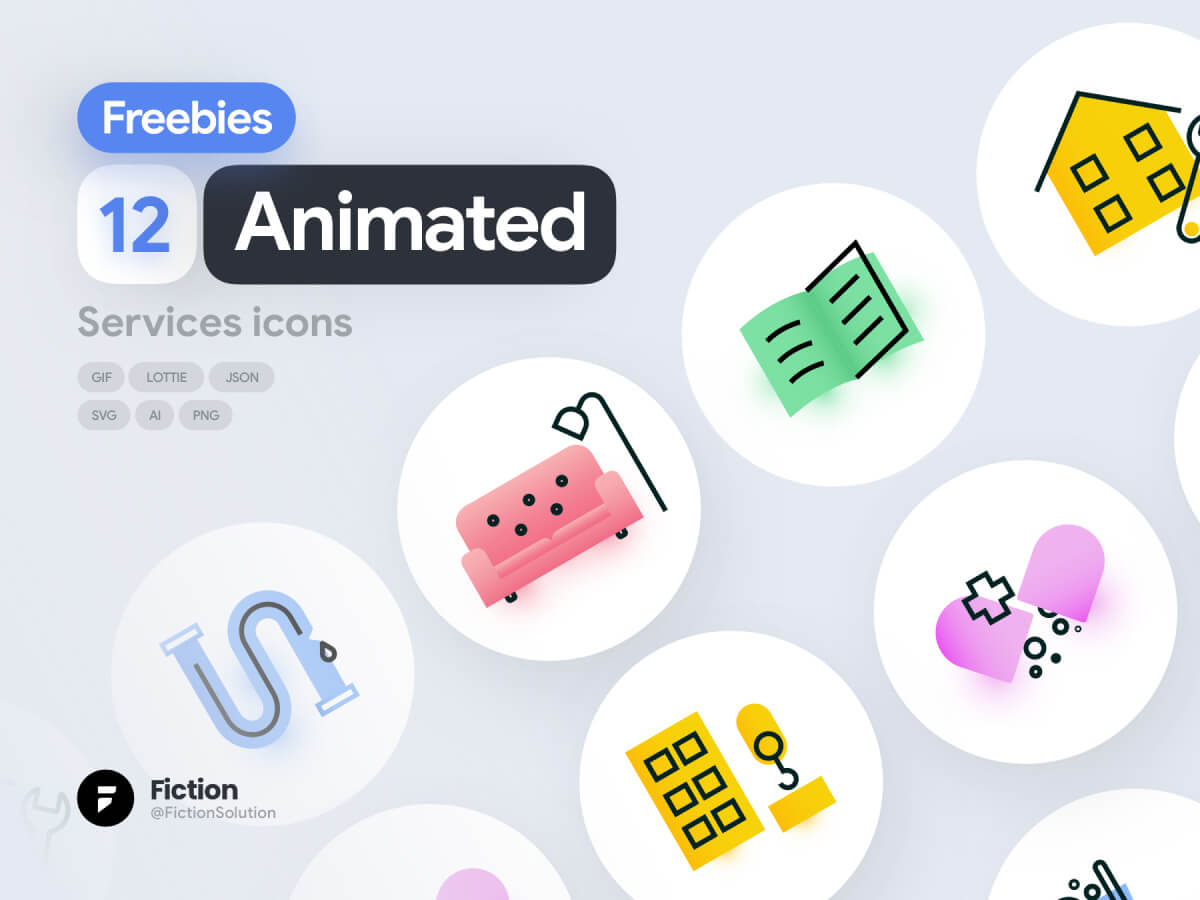 Animated Service Icons