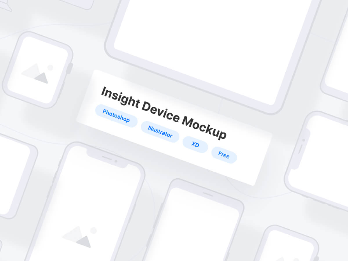 Clay Devices Mockups for Adobe XD