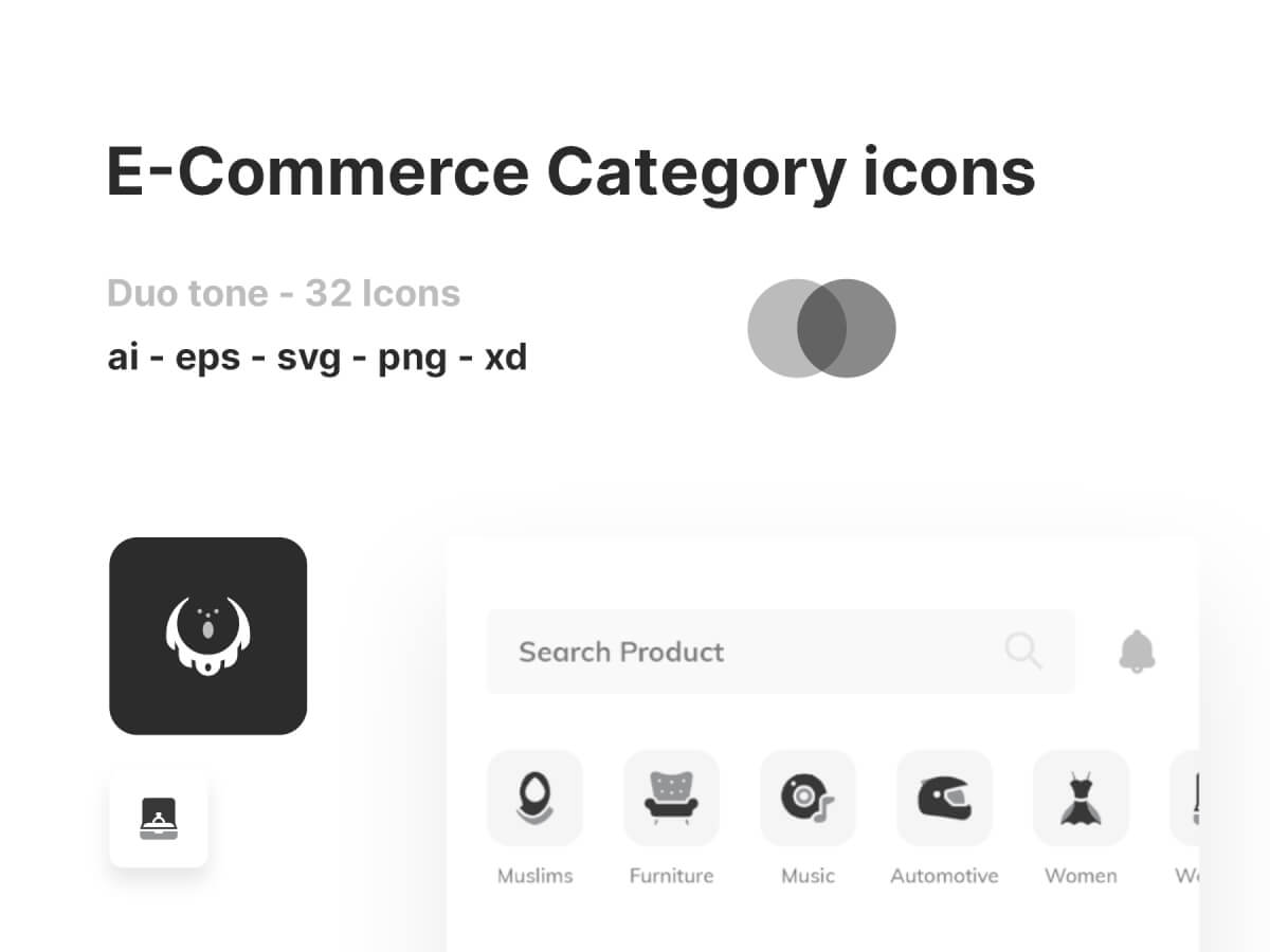 E-commerce Category Icons