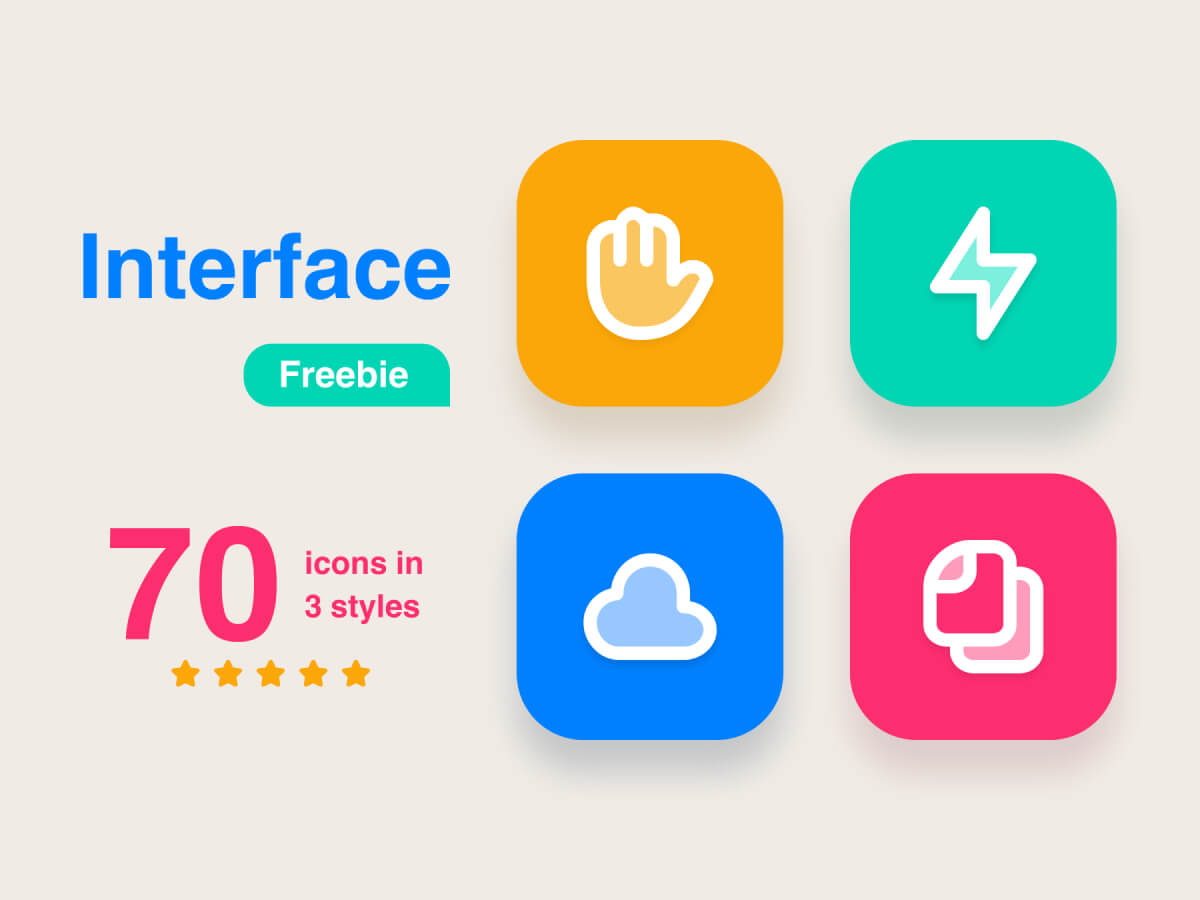 Interface Icon Pack for Adobe XD