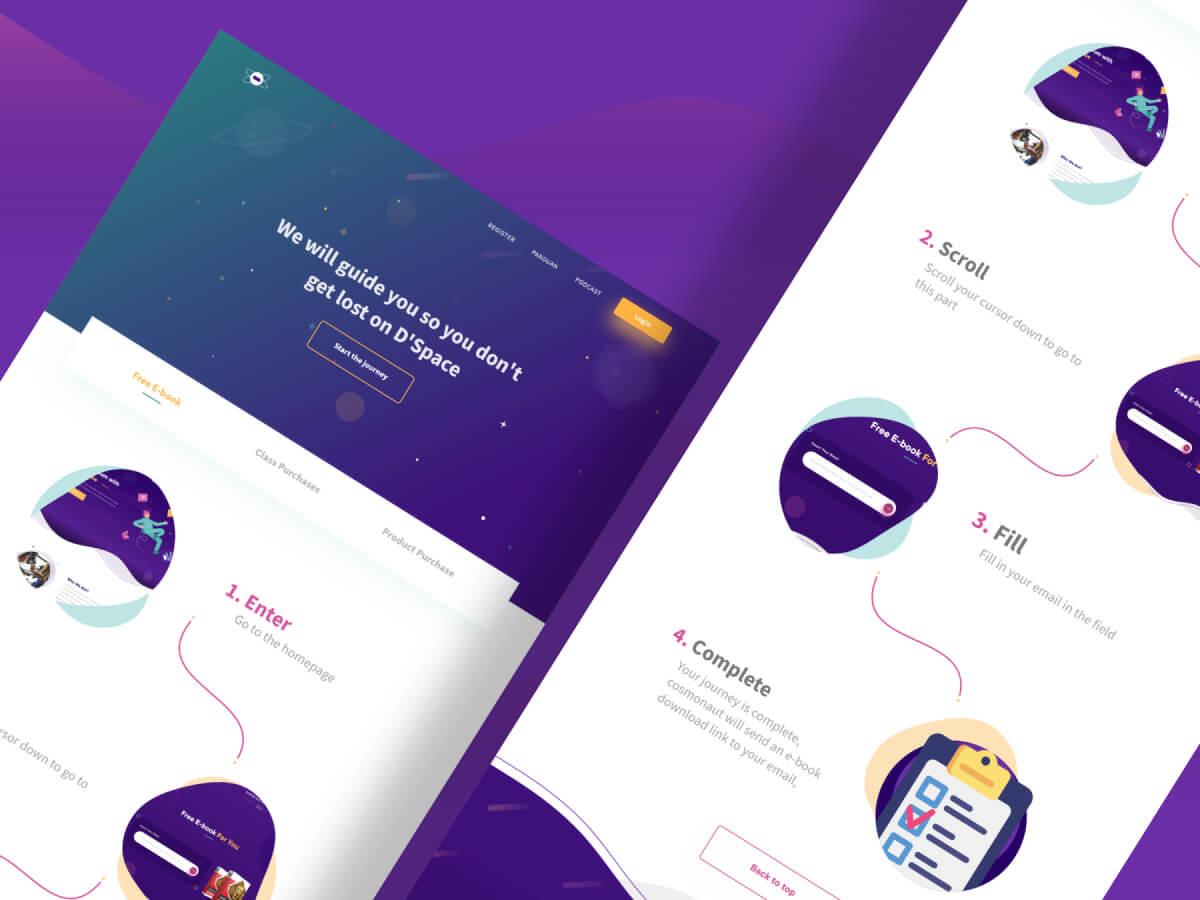 Online Courses Web UI Kit