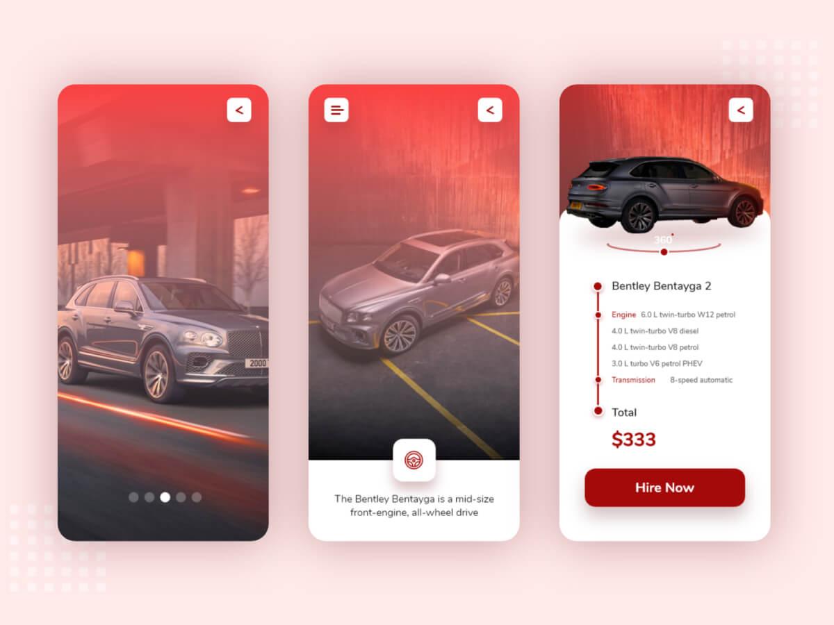Premium Car Hire App