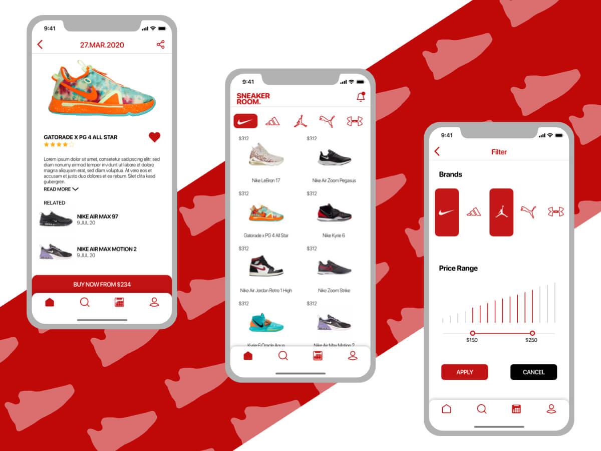 Sneaker Online Shop App