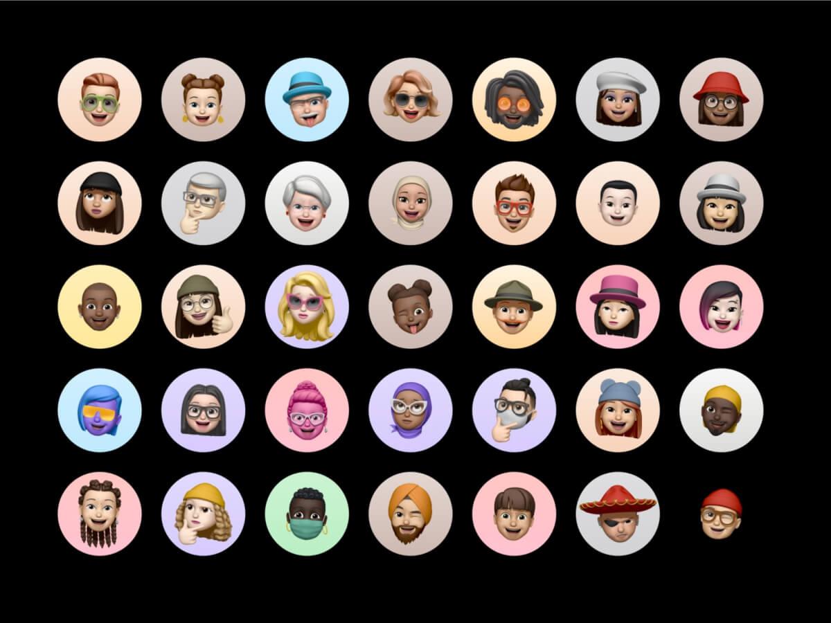 Memoji Avatars for Adobe XD