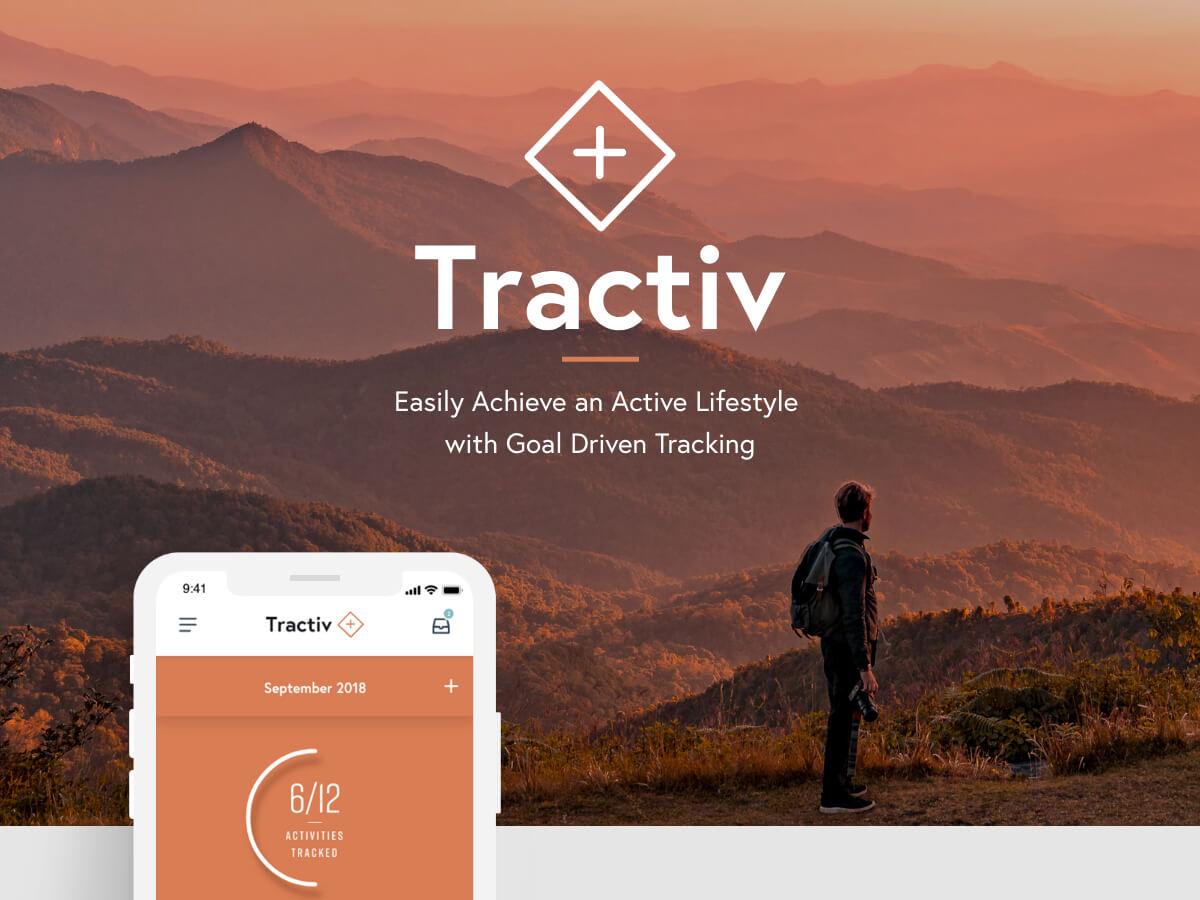 Tractiv Free UI Kit for Adobe XD