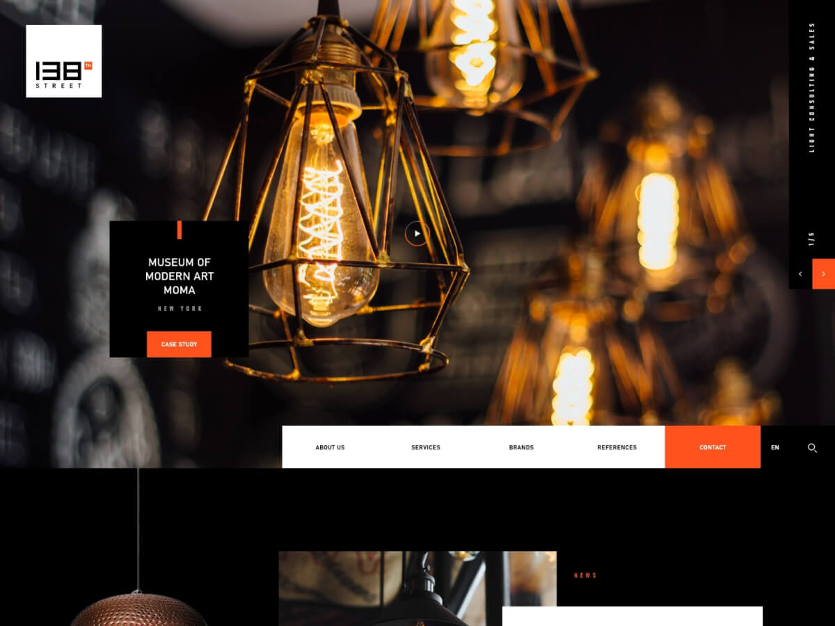 Webshop Template for Adobe XD