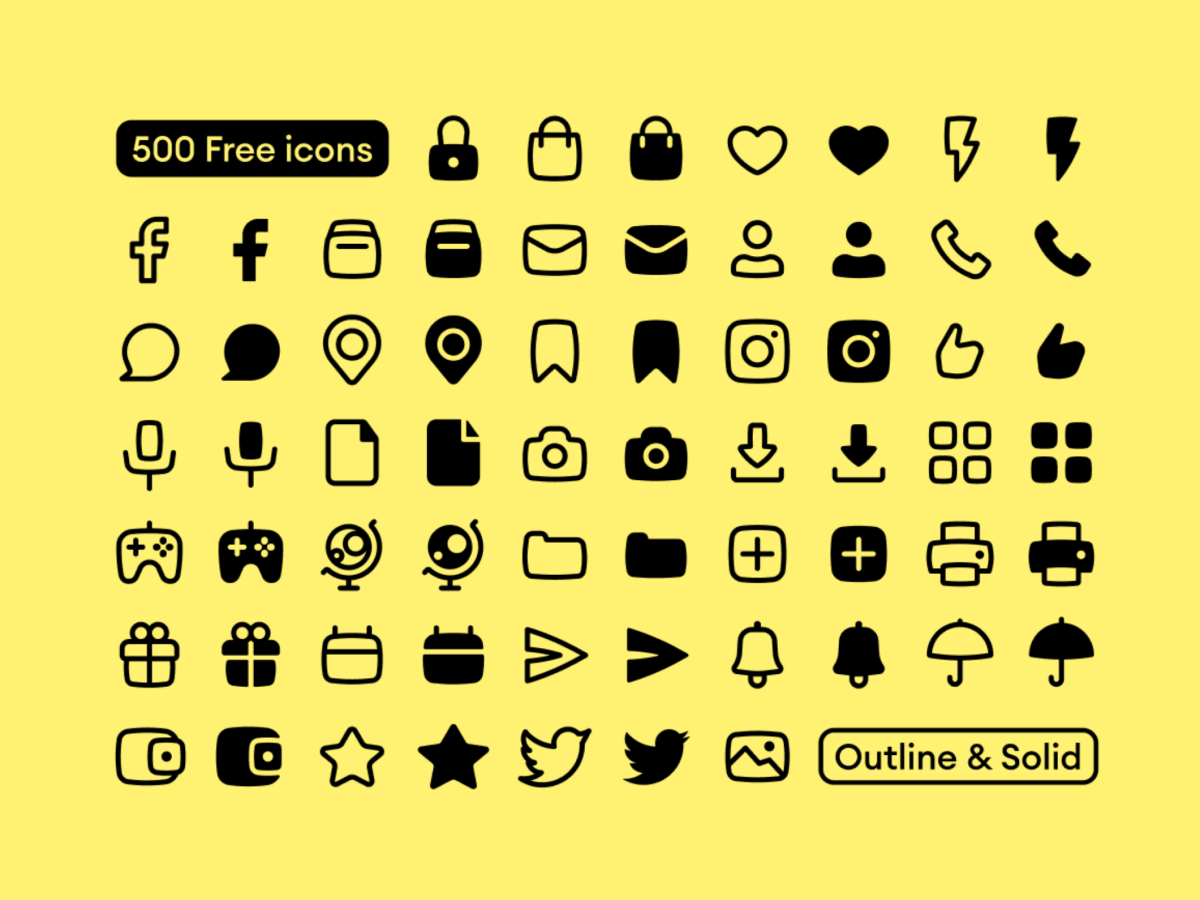 Basil Icon Pack