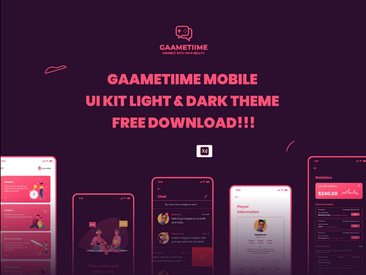 Gaame Time UI Kit
