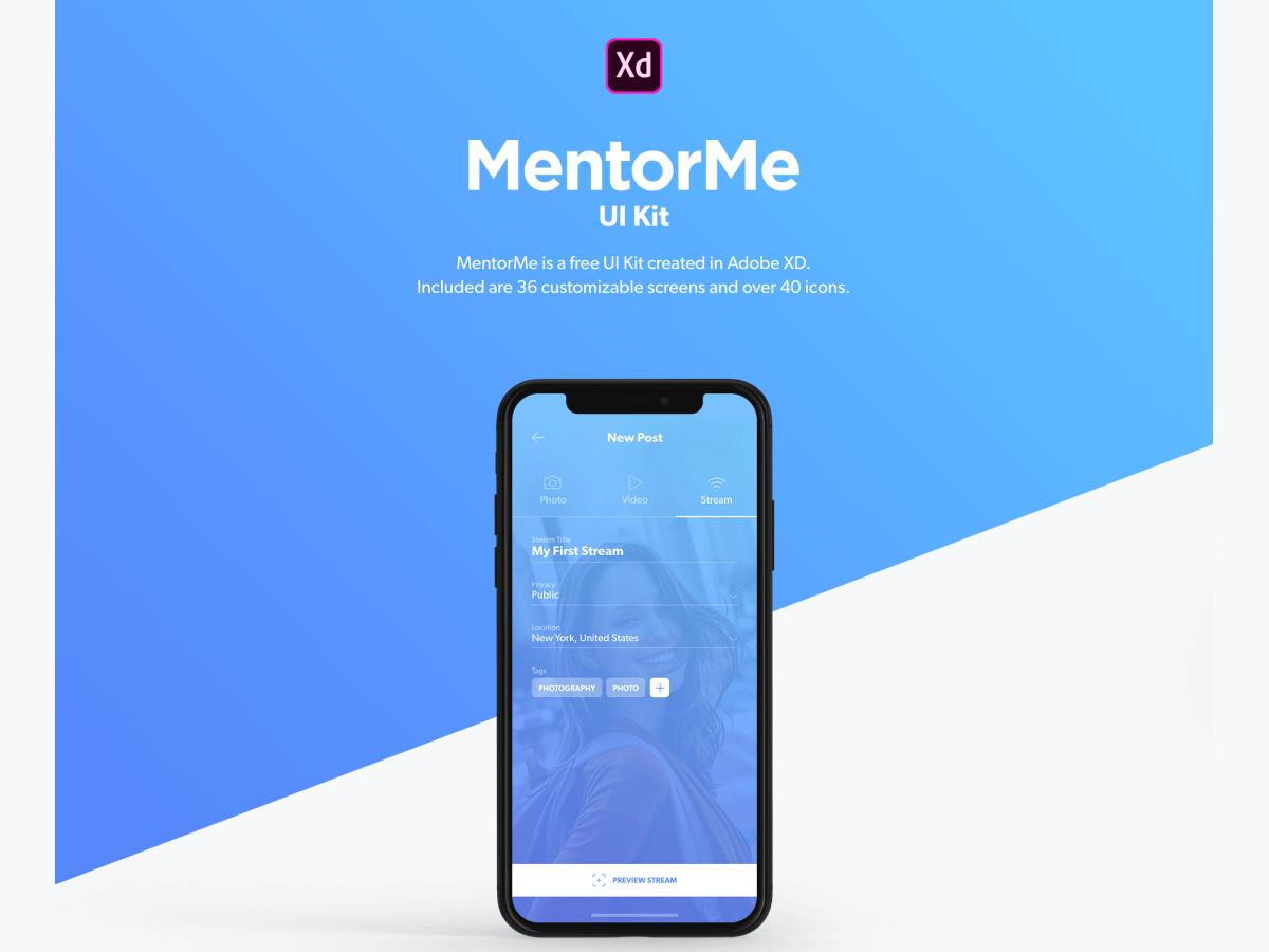 Mentor Me UI Kit