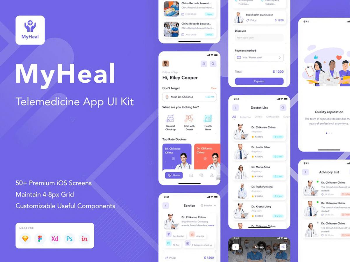 MyHeal UI Kit